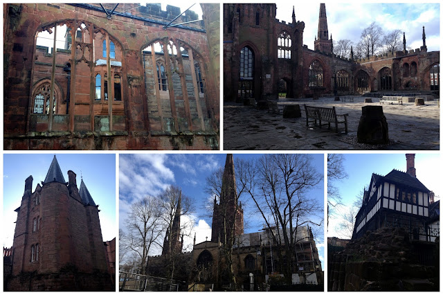Catedral antigua de coventry