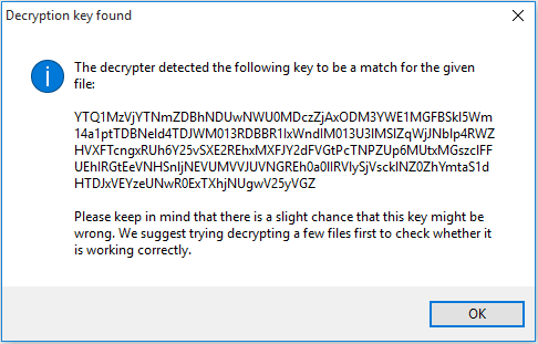 Nemucod - Decryption Key