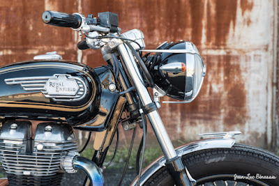 "Royal Enfield 500 ""Black Bullet"""