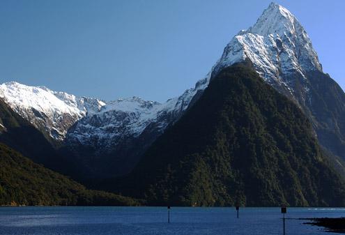 Salju di New Zeland