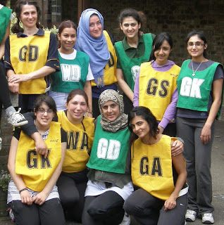 Asian, Women, Netball, Ethnic, Inclusion, Breaking Barriers