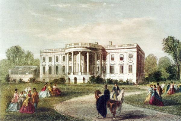 Vintage Postcard Dining Room White House Washington Dc