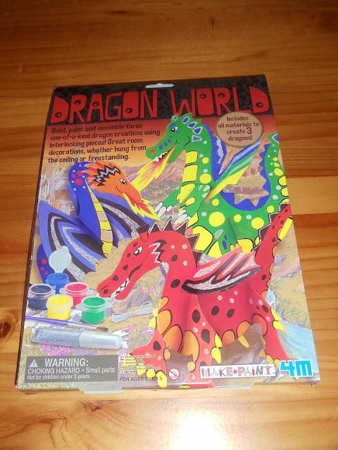 4m Dragon World colour sheet