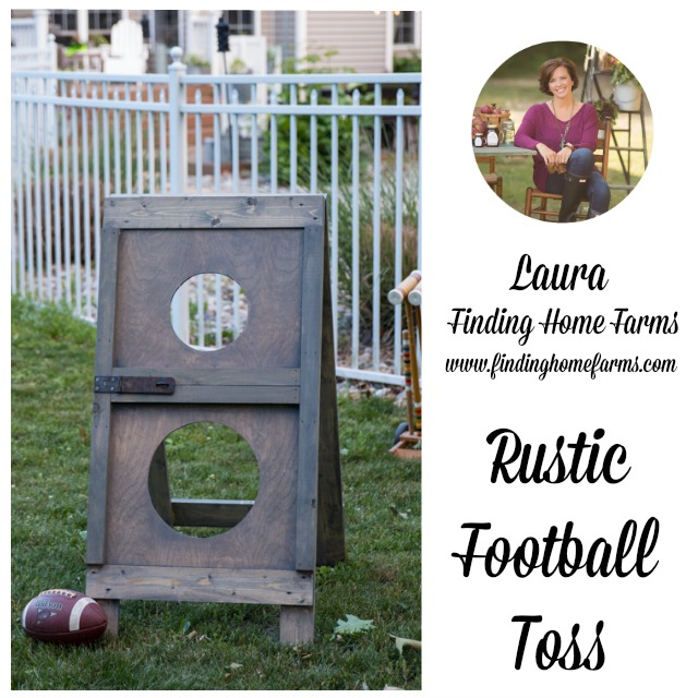 finding home farms rustic barn door football toss