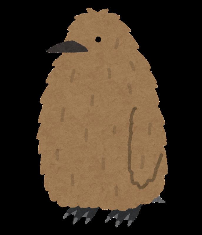 キングペンギンのヒナのイラスト かわいいフリー素材集 いらすとや