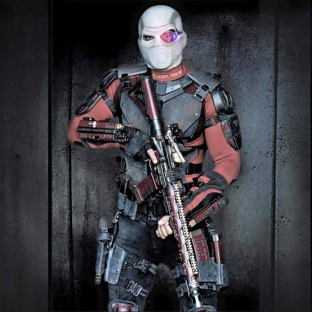 Will Smith în rolul Deadshot din filmul Suicide Squad