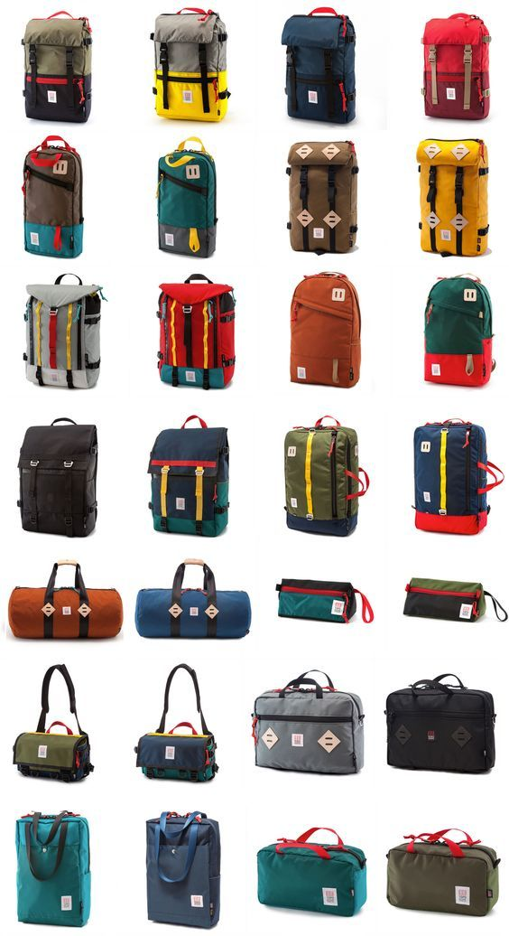 Bags and Backpacks Exterior