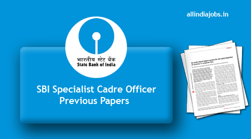 Sbi Specialist Officer Previous Year Question Paper Pdf