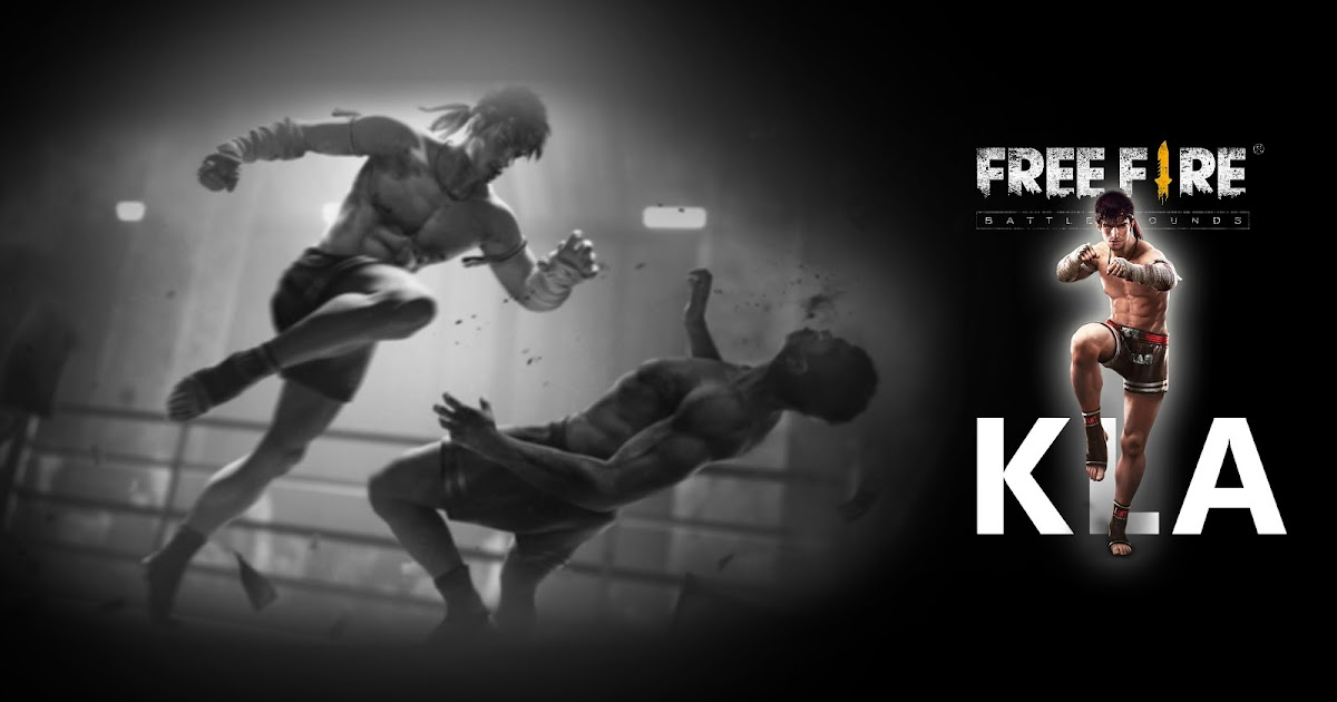Kla Character Free Fire Muay Thai Fighter