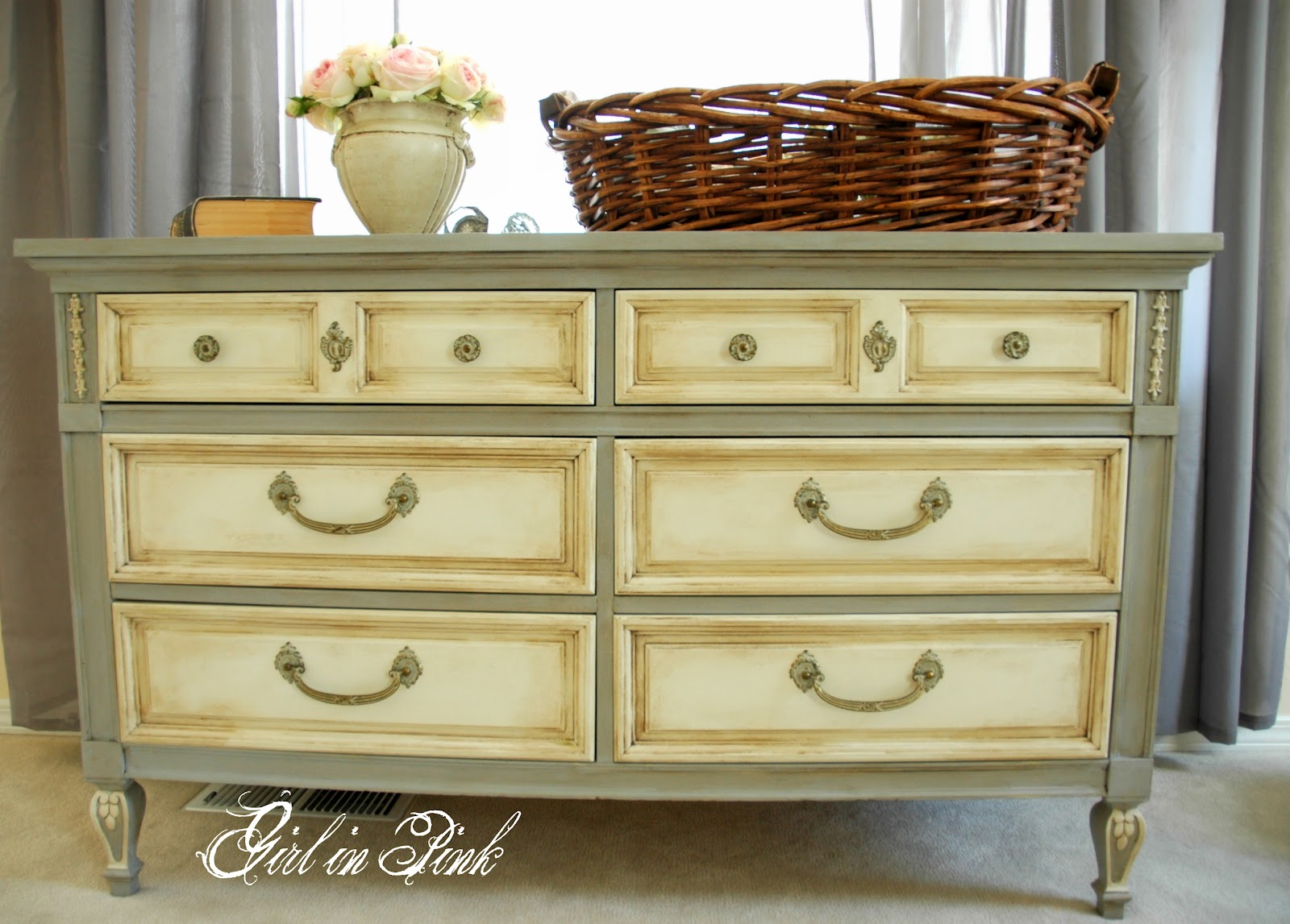 Shades Of Amber Chalk Paint Link Party