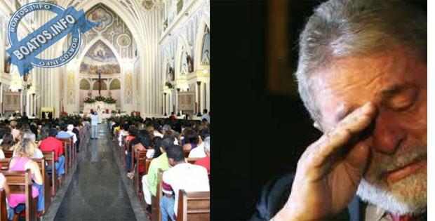 Padre chamou Lula de Ladrão e o expulsou da igreja: Boato