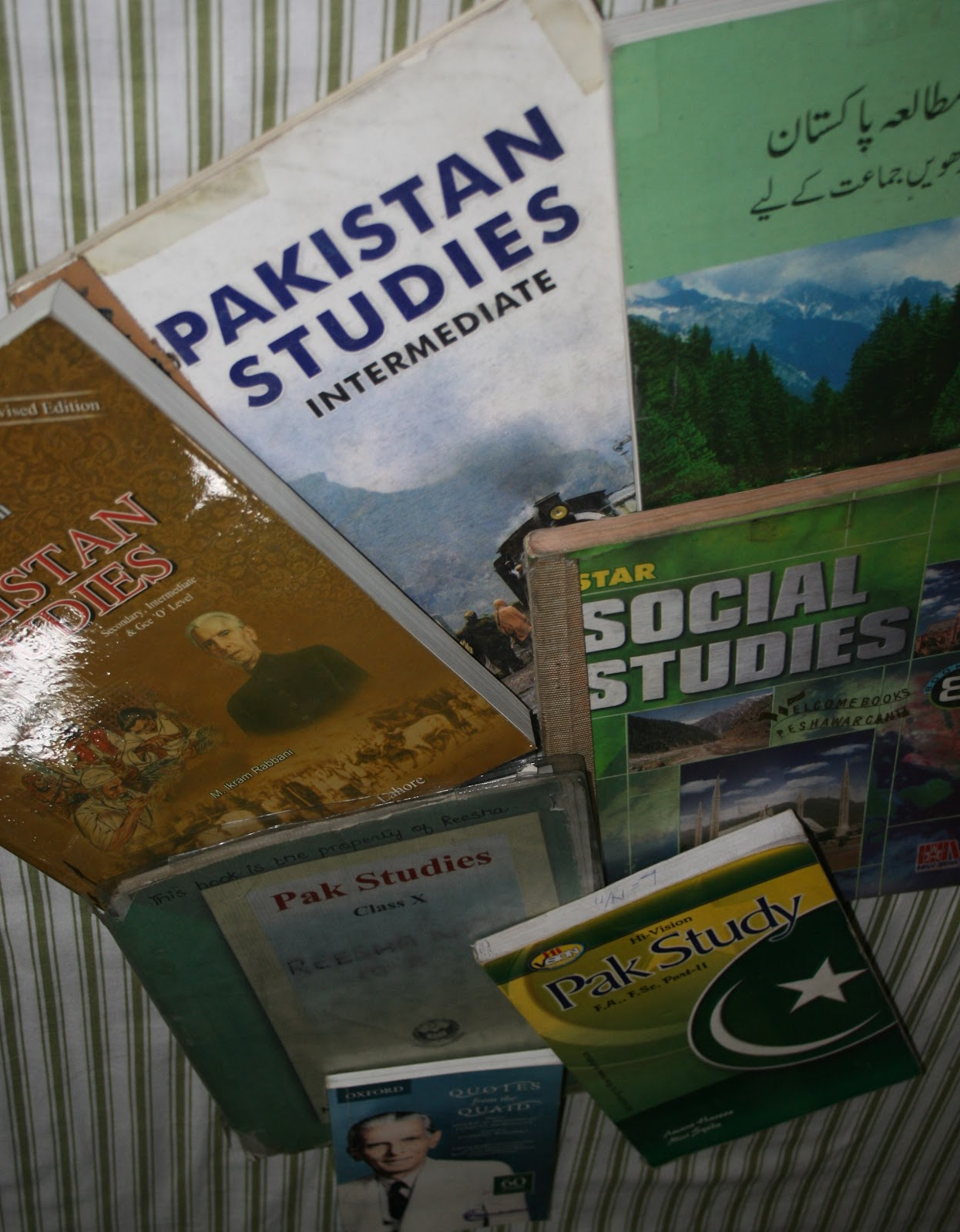 Isolated System: Pakistan Studies in English For Second Year