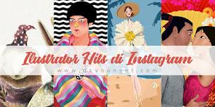 Ilustrator Indonesia yang Hits di Instagram. Wajib Kamu Follow!
