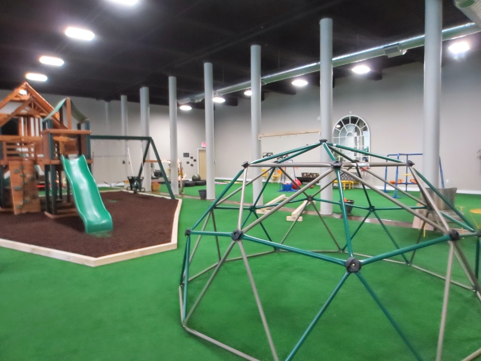 the Mommy Stories adventures at The Yard an indoor playground