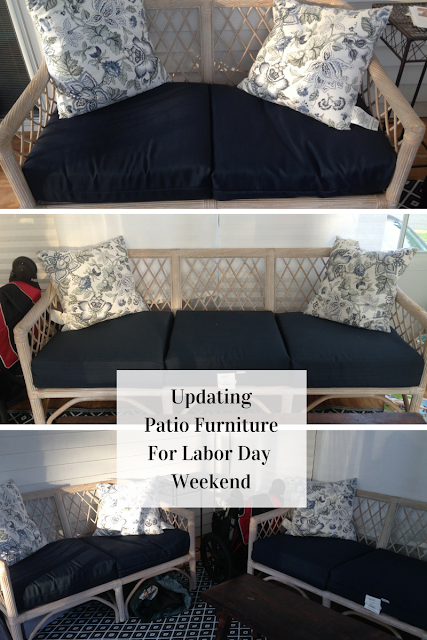 Updating Patio Furniture for Labor Day Weekend