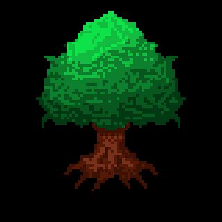 Cara Membuat Pixel Art Tree