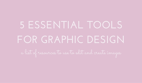 A list of resources to use to create and edit images and graphics.