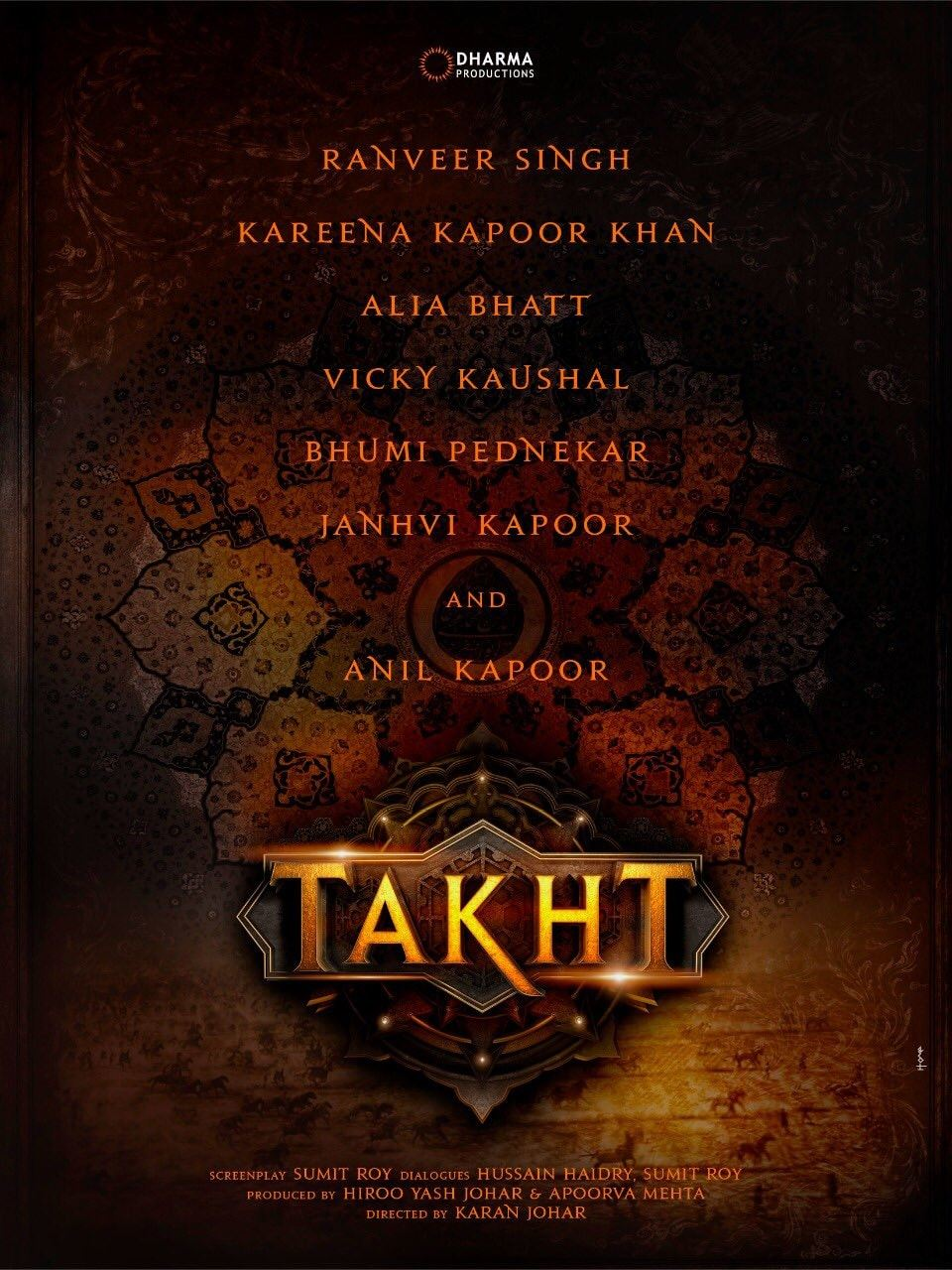 Karan Johar's Takht (2020) | Ranbir Kapoor | Alia Bhatt | Kareena Kapoor