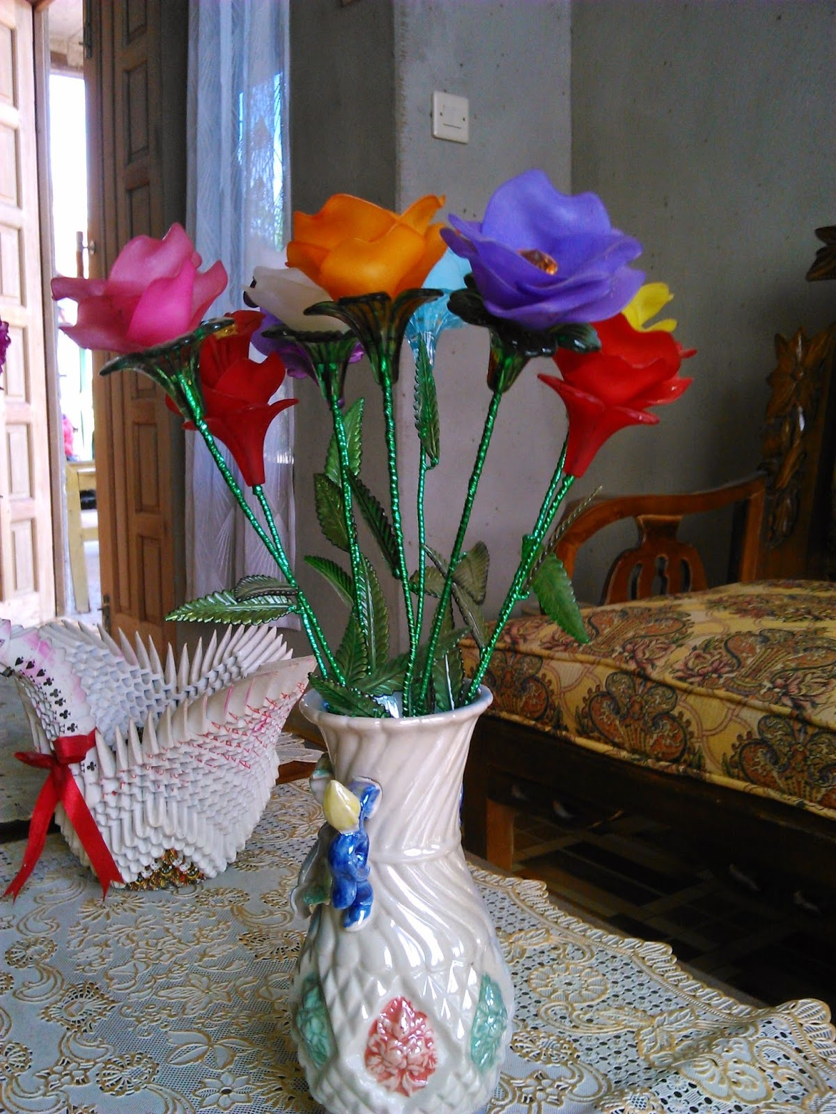 Diy Crafts Beautiful Lily Flower Creativehozz About Home