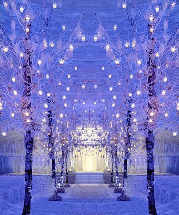 Tree Themed Wedding Ideas: Io Sono Wedding Planner: Winter Wedding : Il Matrimonio
