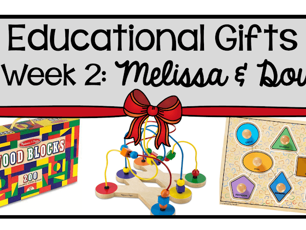9 Weeks of Educational Gifts: Week 2