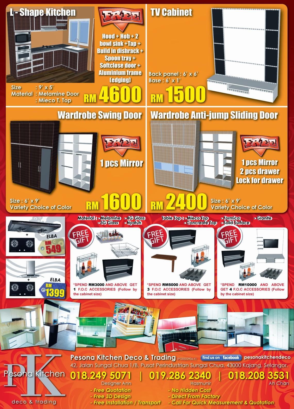 Kitchen Cabinet Murah Kl Memsaheb Net