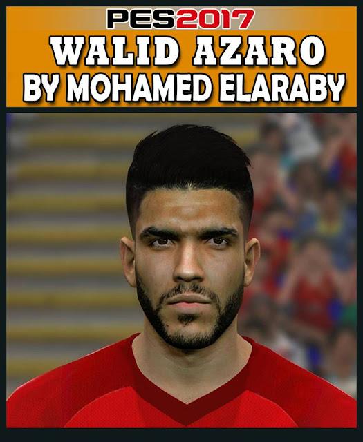PES 2017 Walid Azaro Face 2018/19