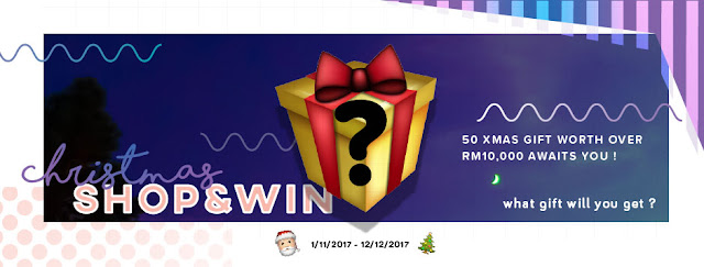 SimplyOhsem Xmas 'Shop & Win' Gift Campaign