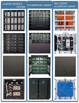 Màn hình led p5 cabinet ngoài trời tại Hà Tĩnh