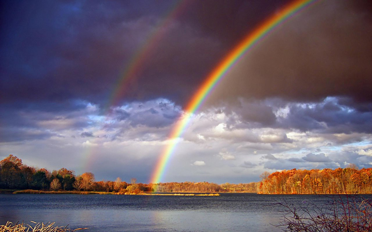 Красивые радуга фото