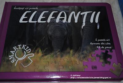 Elefantii, carti cu puzzle, editura All
