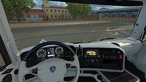 Scania RJL White interior mod