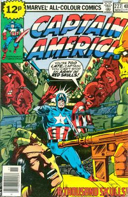 Captain America #227, the Red Skulls