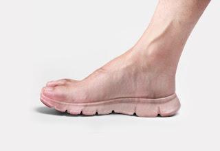 Sapatos invisíveis