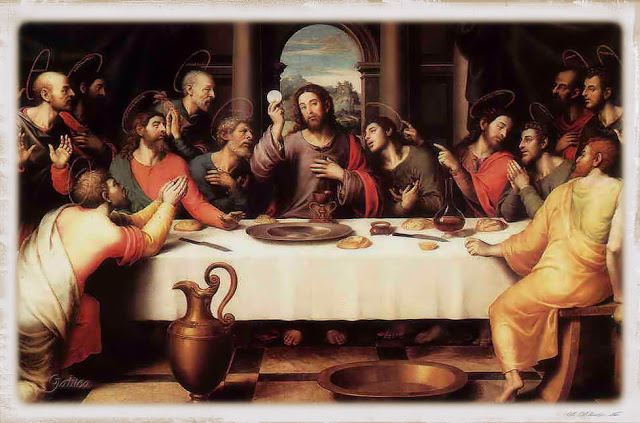 Resultado de imagen de juan apoyandose en jesus en la ultima cena