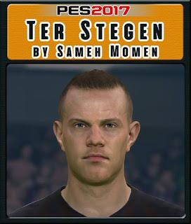 PES 2017 Faces Marc-André ter Stegen by Sameh Momen
