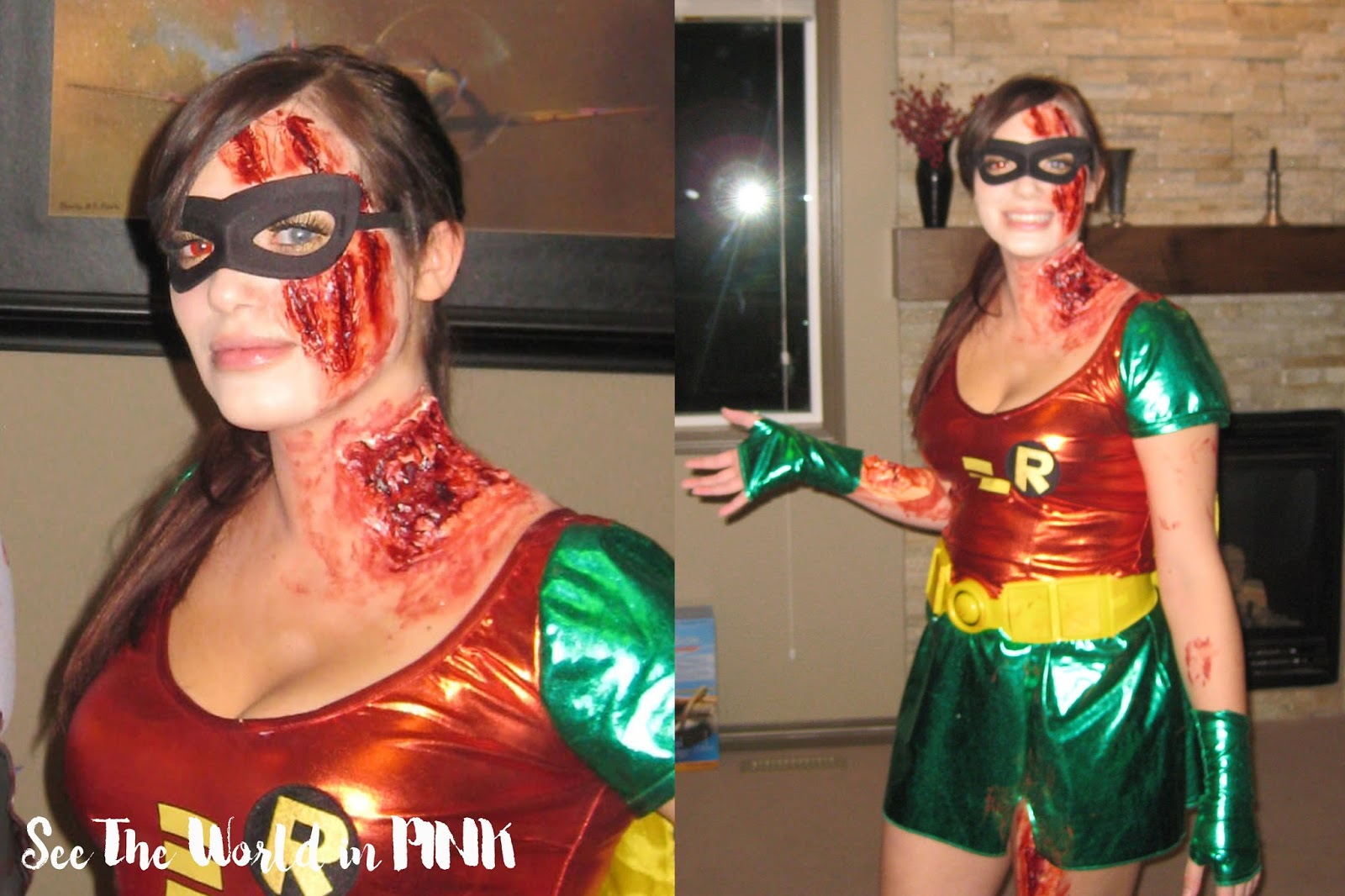 zombie robin makeup