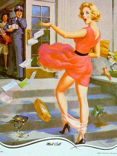Chamando o Correio - Art Frahm e suas principais obras - Artista Pin-up
