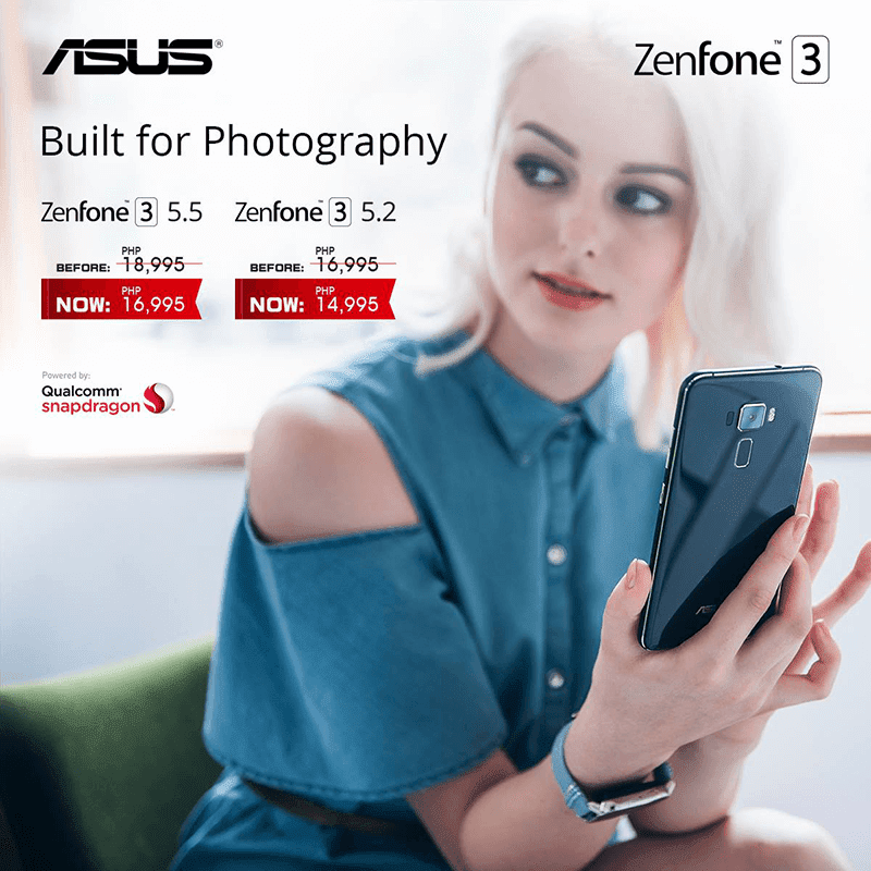 Asus Revealed New And Lower ZenFone 3 (ZE520KL) And (ZE552KL) Prices