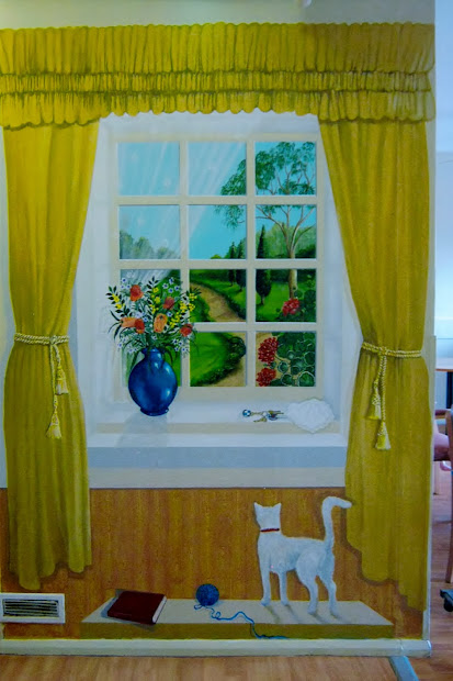 Creativity Creator Illusion Murals In Dementia Areas