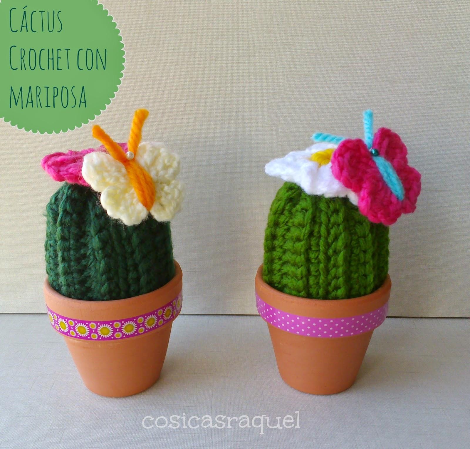 Pasos de como hacer cactus de ganchillo en 4 modelos | Cactus de ... | 1528x1600