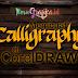 Tutorial Cara Membuat Kaligrafi di CorelDRAW Cepat dan Mudah
