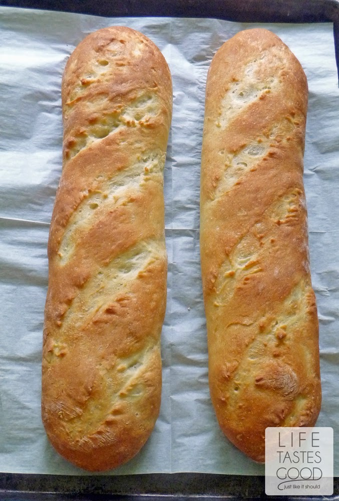 Banh Mi Bread loaves fresh out of the oven