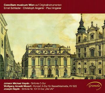 HAYDN, M.: Symphony No. 39 / MOZART, W.A.: Clarinet Concerto / HAYDN, J.: Symphony No. 101