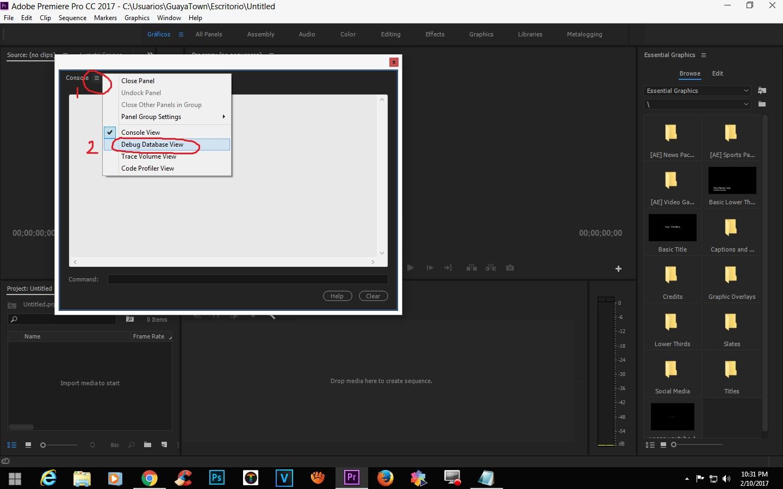 how to write arabic in premiere pro cc