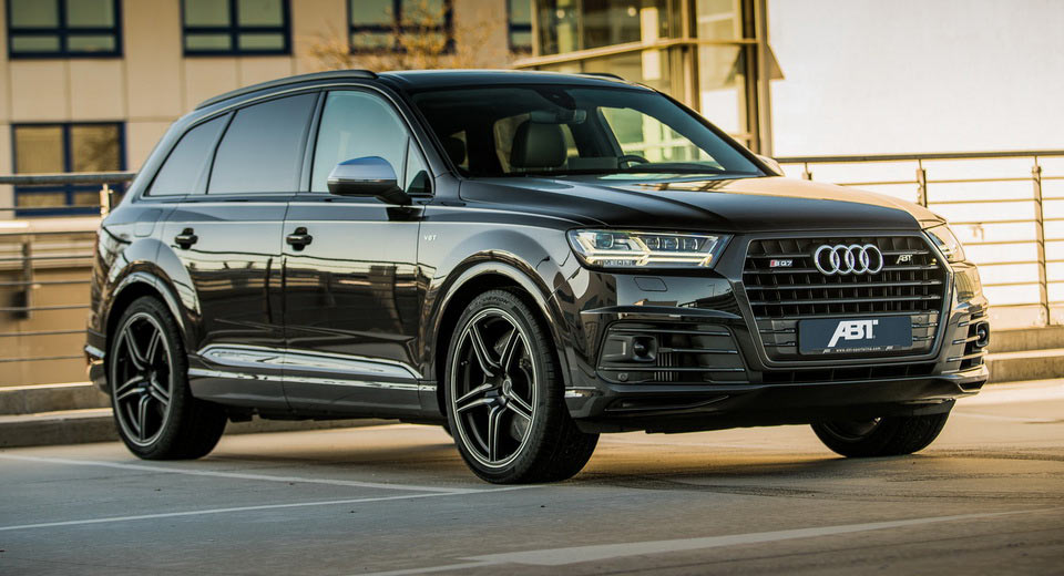 Abt Injects Audi Sq7 With 520hp And 715lb Ft Of Torque