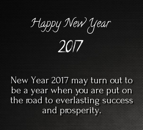 Boss Image Of New Year 2017
