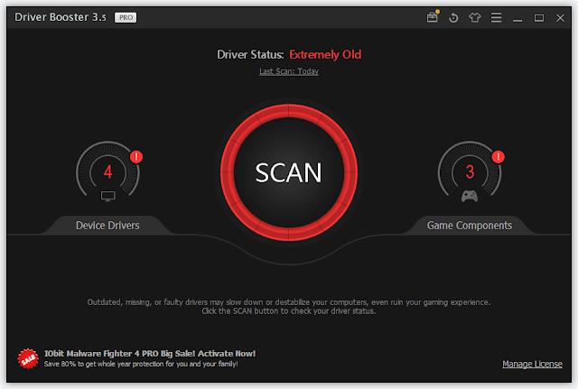 IObit Driver Booster 3.X License Key