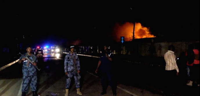 Photos: Accra Ghana Gas Station Fire Explosion Death Toll ...