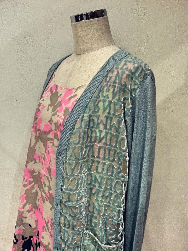 mintdesigns[ミントデザインズ]-PRINT DRESS